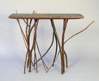 walnut pool thicket table